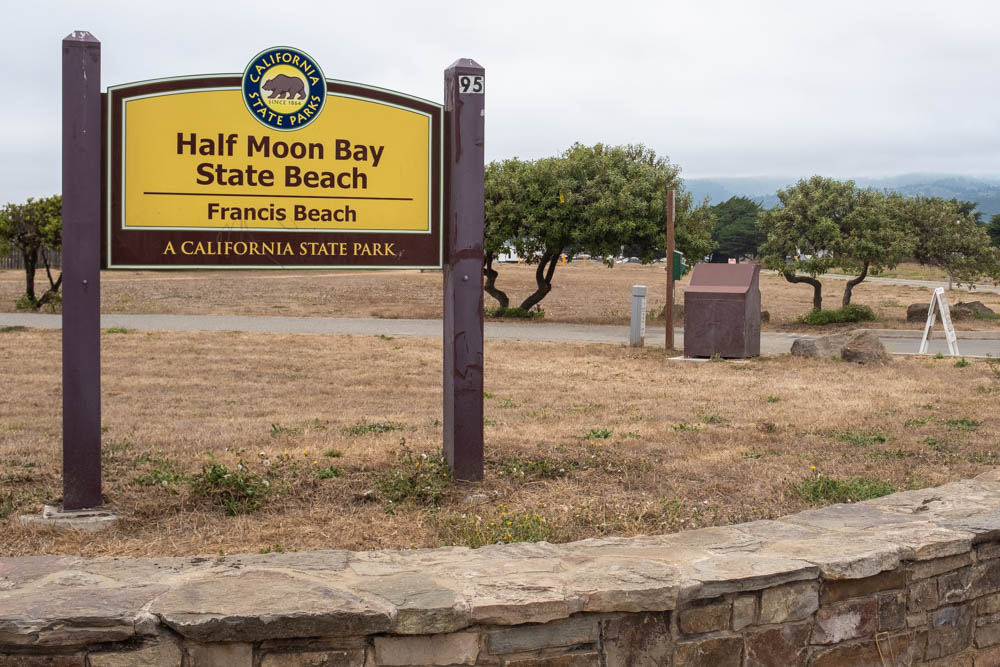 Francis Beach sign