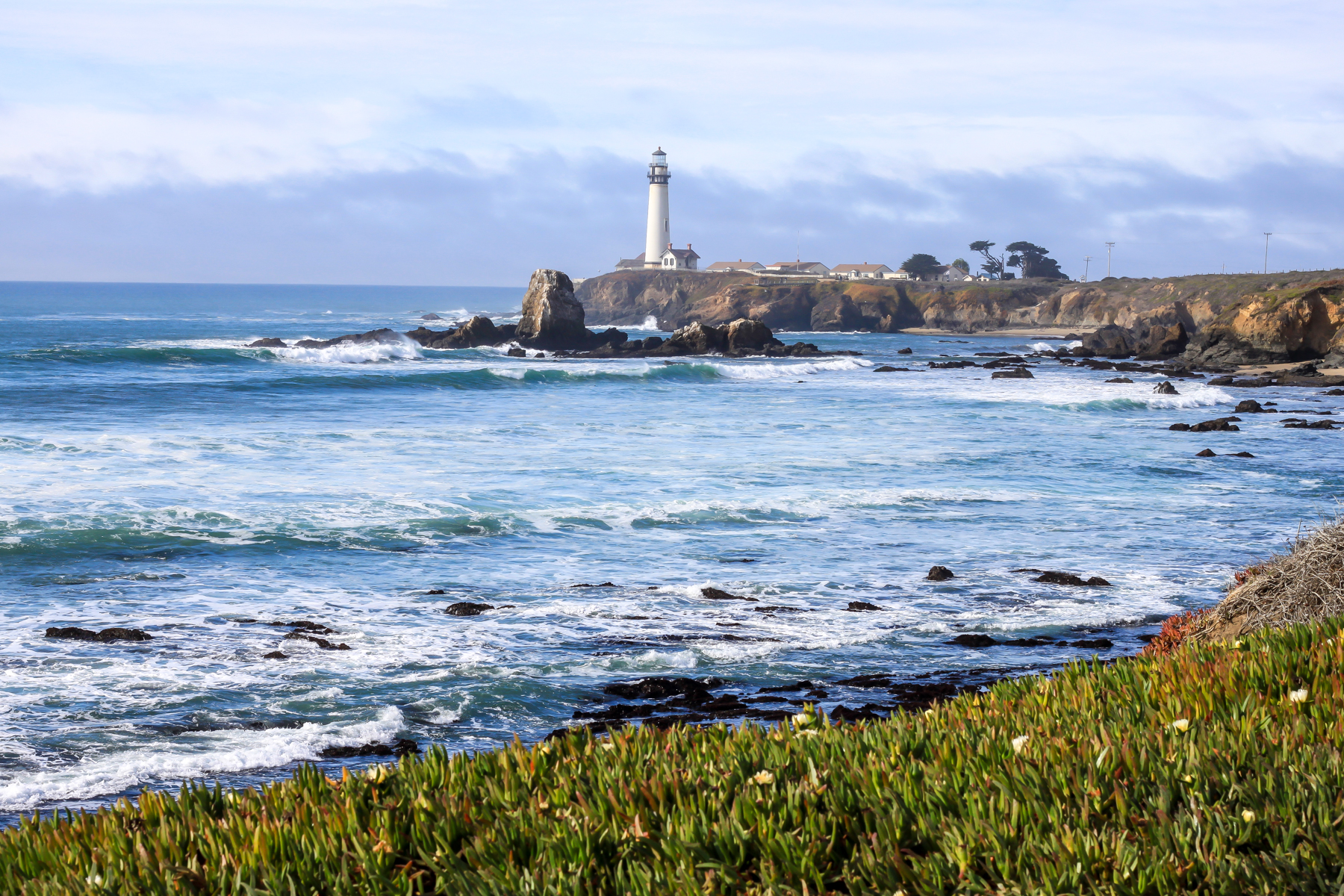 Pigeon Point Lighthouse - Photo by Garrick Ramirez
