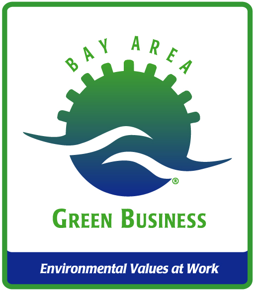 Green Business Decal