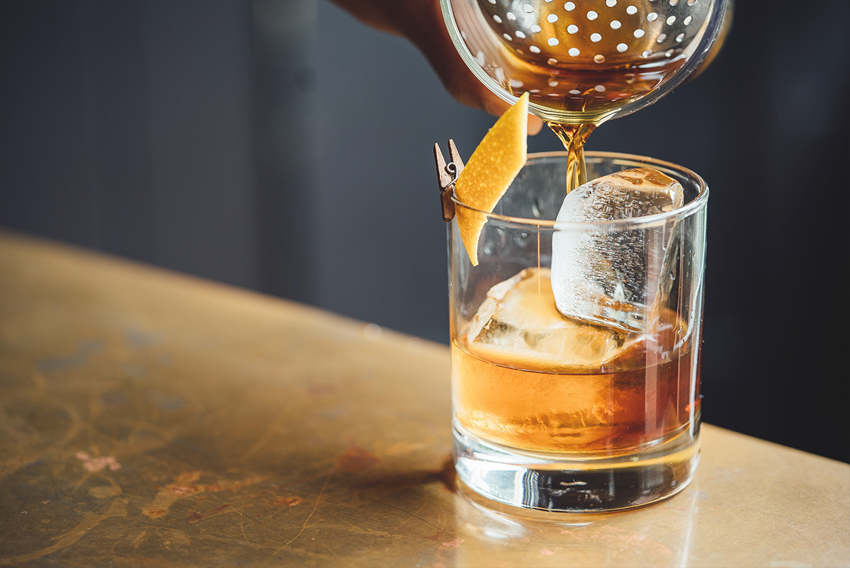 pumpkin spice old fashioned