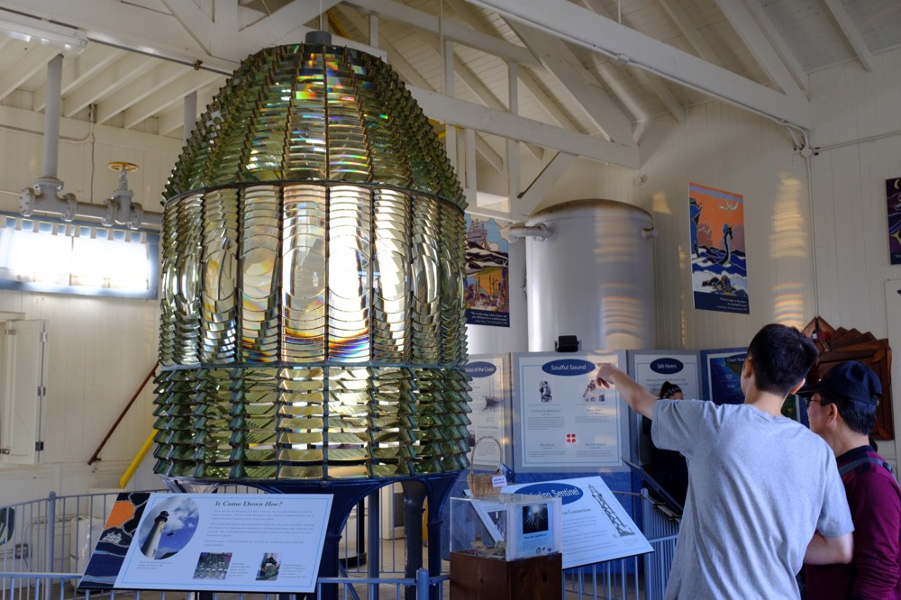 Fresnel Lens at Pigeon Point Lighthouse