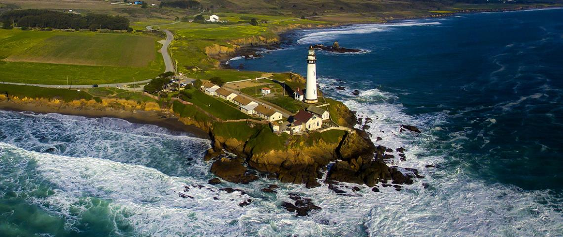 Pigeon Point Lighthouse  Northern California