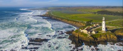 Pigeon Point Aerial View
