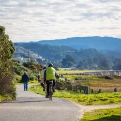 Bicycles on the California Coastal Trail