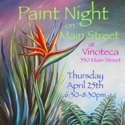 Paint Night on Main Steet Thumbnail