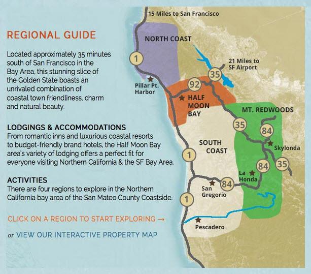 Bay Area Resources Coastside Website Interactive Map