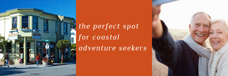 The perfect spot for coastal adventure seekers